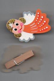andílek-oranžový