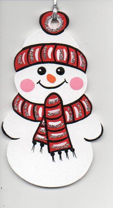 sněhulák-červený
