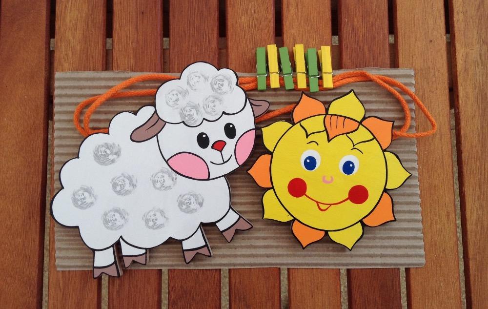 PN-ovečka se sluníčkem